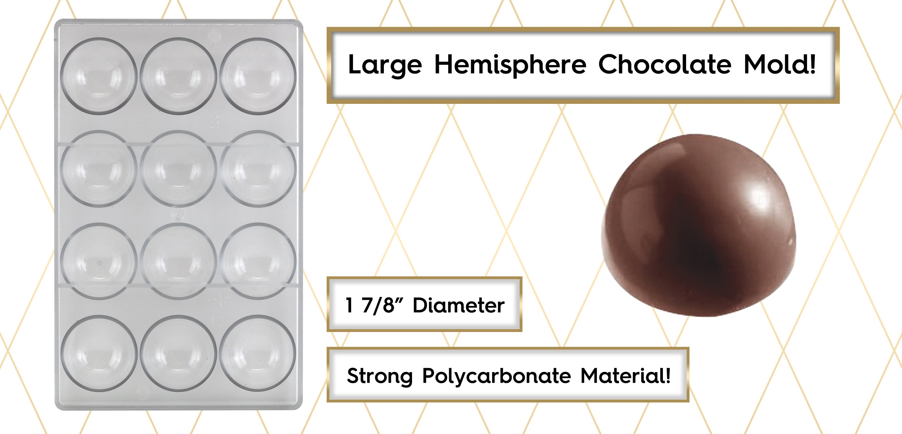 Hemisphere Chocolate Mold