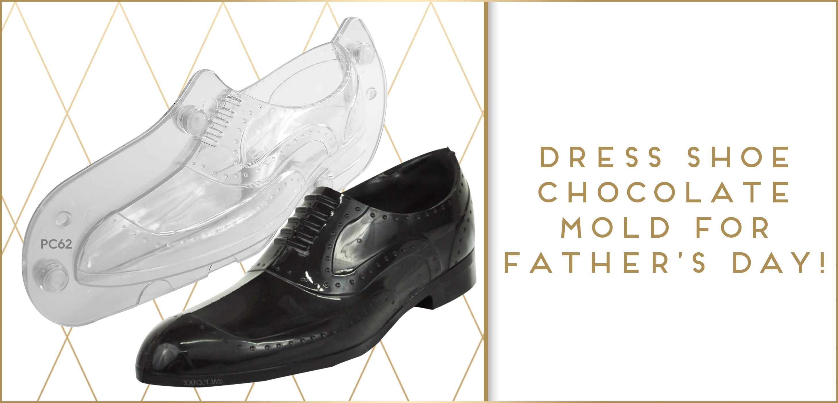 Men's Shoe 3D Chocolate Mold Father's Day
