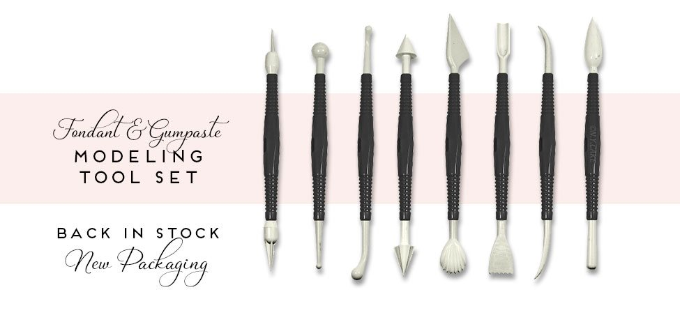 Fondant and Gumpaste Modeling Tool Set